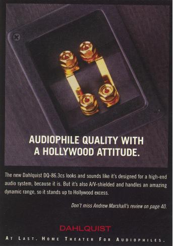 Dahlquist Audiophile