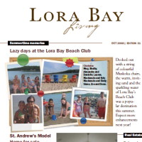 Lora Bay Living – newsletter helps build community and attract buyers