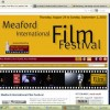 Meaford International Film Festival's responsive website
