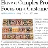 Story telling and marketing