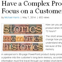 Why a customer story's better than a PowerPoint any day