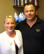 Janine and Bryon Doucette, Solitudes Spa & Tanning Studio, Meaford, Ontario