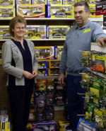 Joanne Jolley, Jolley's Farm Toys and Diecast, Meaford, Ontario