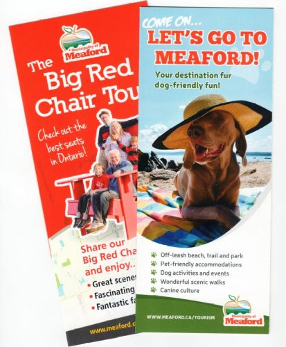 Meaford Tourism brochures