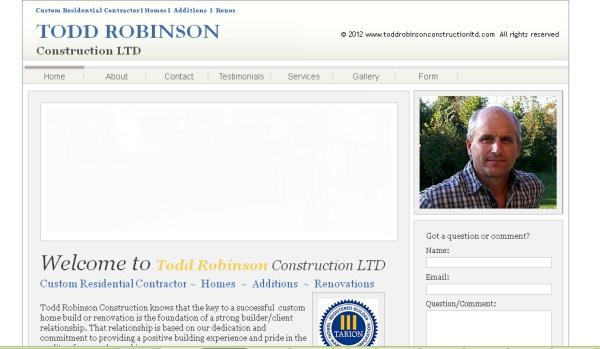 Website repairs needed